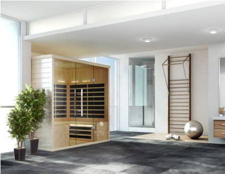 Sauna in Luxury Bathroom fs14