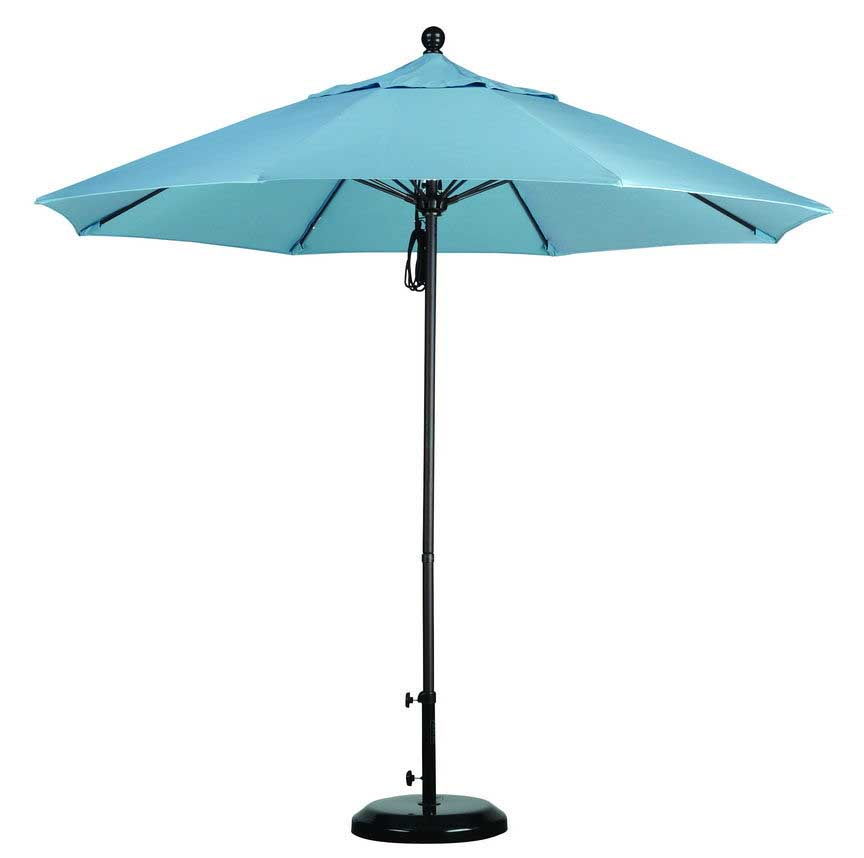 Light Blue Umbrella on California Umbrellas Page