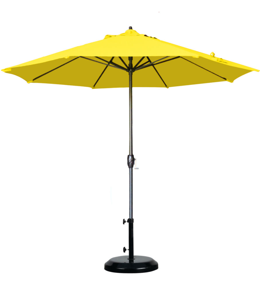 Yellow Umbrella from California Umbrellas Page