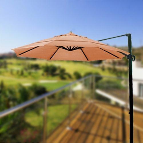Light Orange Umbrella on California Umbrellas Page
