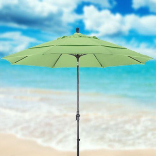 Light Green Umbrella on California Umbrellas Page