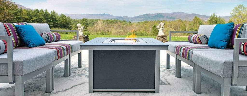 Patio Furniture with Fire pit tf12