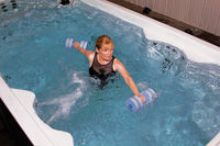Weights in Swim Spa 2