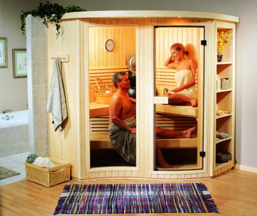 Couple in Sauna Finnleo image