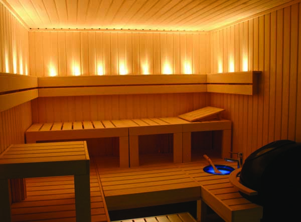 Luxury Finnleo Saunas Pretty Lighting