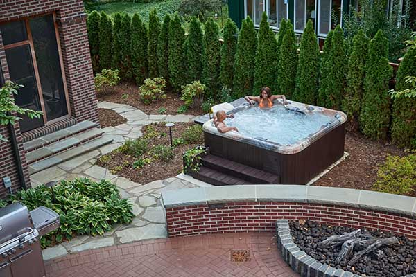 Spa Accessories & Hot Tub Surrounds Aerial Image