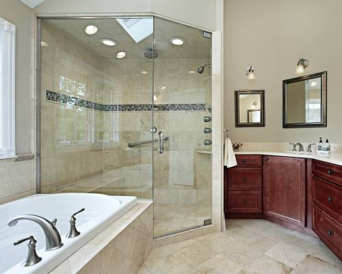 Charmant Amerec Steam Generators Contemporary Bathroom. Master Bath With Glass Shower