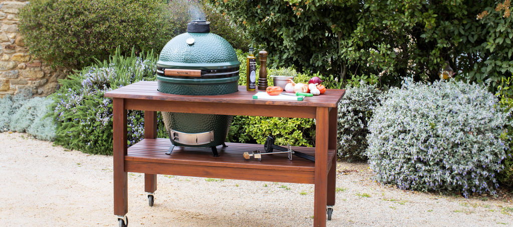 The Big Green Egg Header