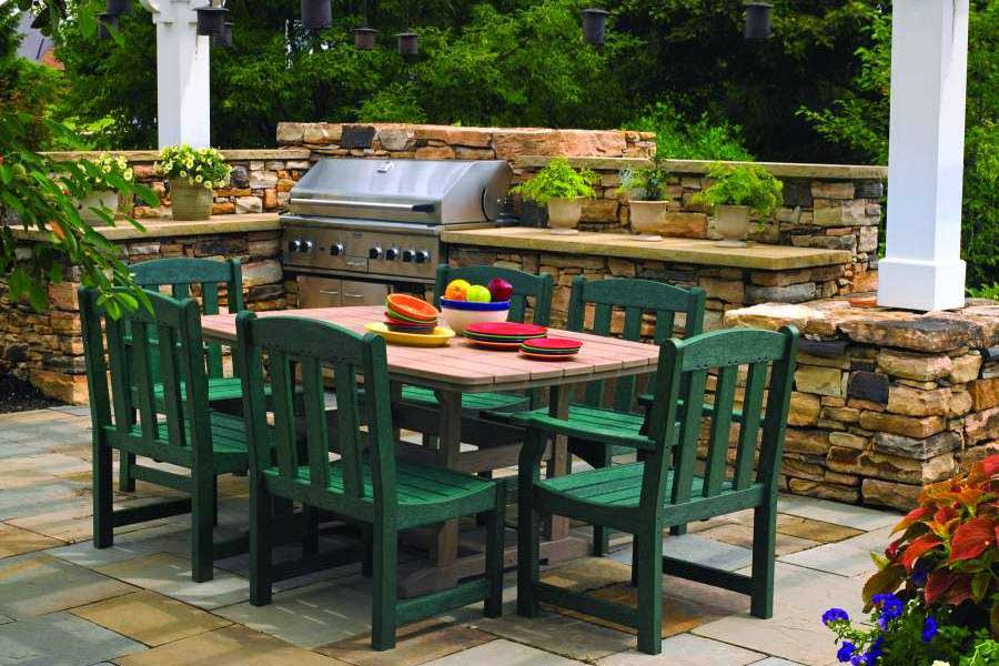 Outdoor Furniture Dining Group Patio 2