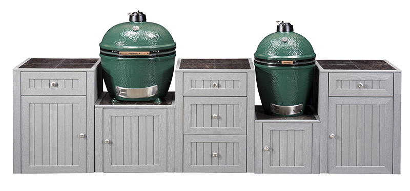 Outdoor Kitchens Double Egg