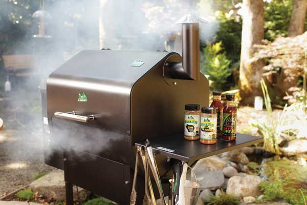 Outdoor Living Smoking Grill photo