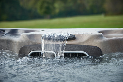 Waterfall Hot Tubs by Aspen Spas of St. Louis Page