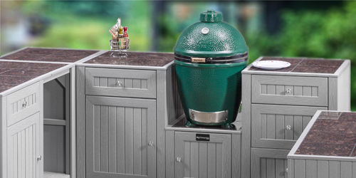 Big Green Egg page