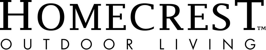 Home Crest Logo Black