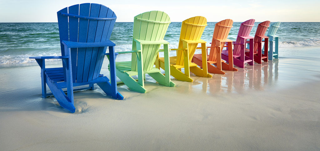 Rainbow Chairs C.R. Plastic Products