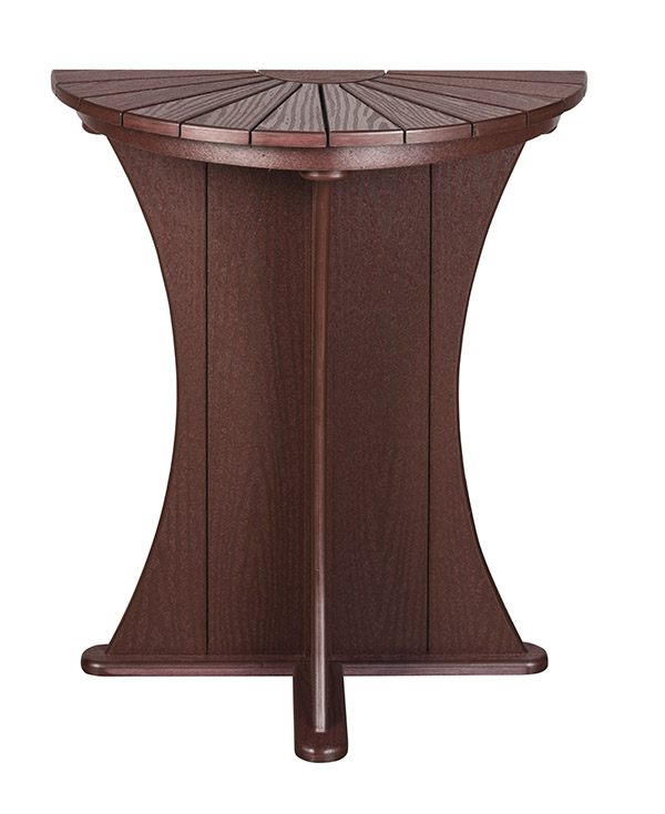 Spa Accessories Half Round Table
