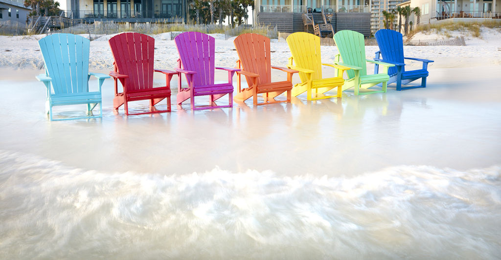 Rainbow Chair colors from Live Well 6