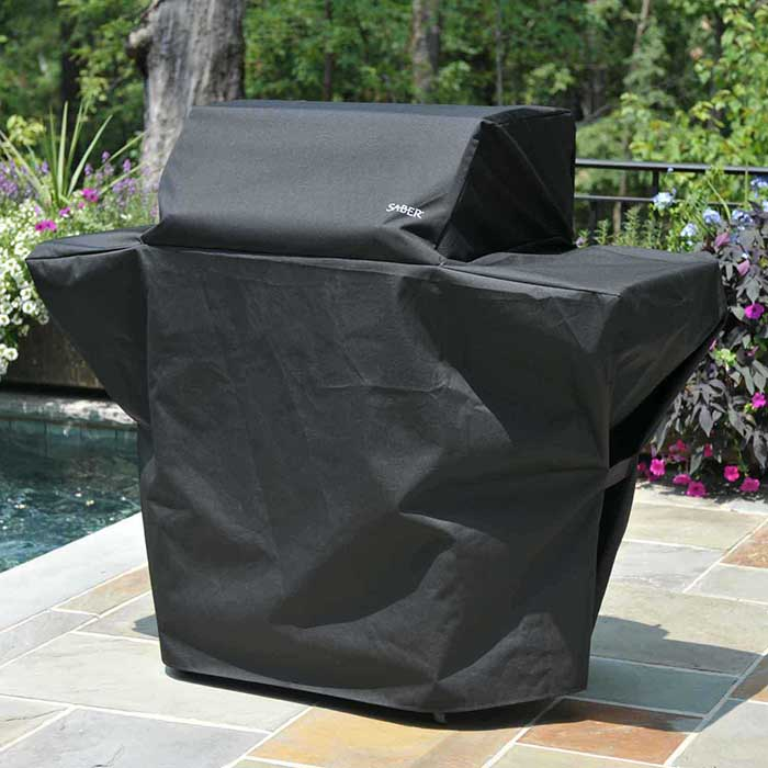 Alternate Photo of Saber Elite 1500 Grill Cover