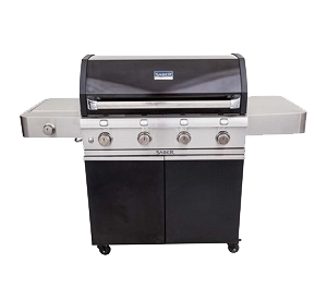 Saber Grills Cast Black 4 Burner - 300