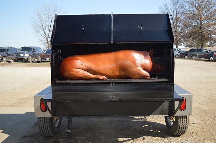 The Pitboss Whole Hog Cooked