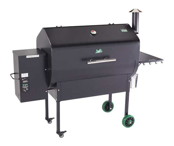 Jim Bowie Pellet Grill with WiFi for WEB