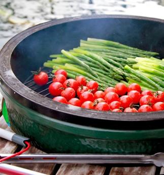 Big Green Egg Large 5 Grilling Vegetables