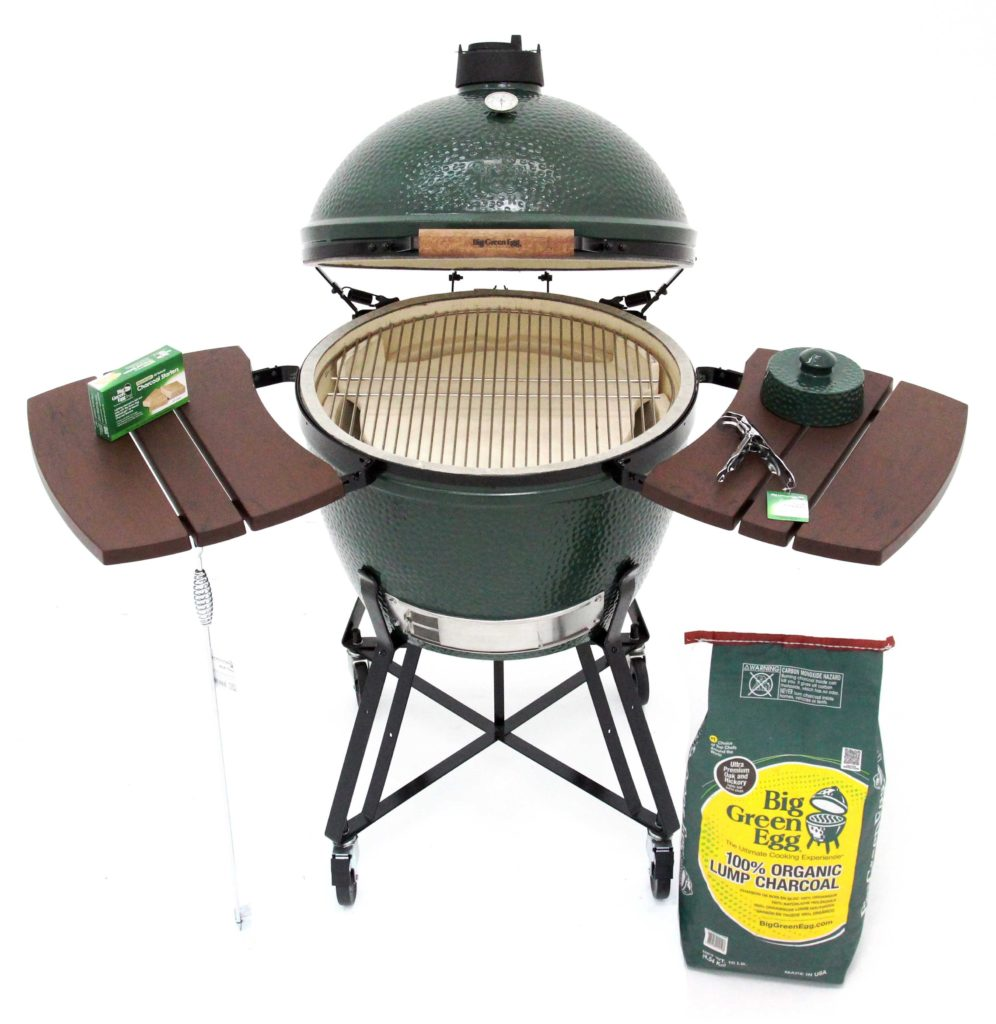 Big Green Egg Grill XL3 Setup