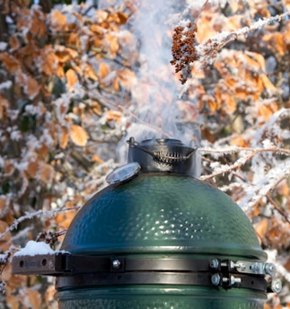 Big Green Egg XL6 Smoking