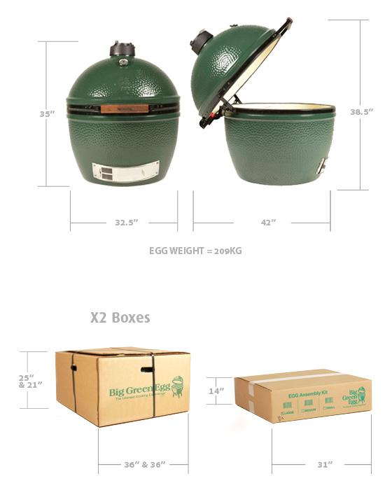 Big Green Egg XXL 5
