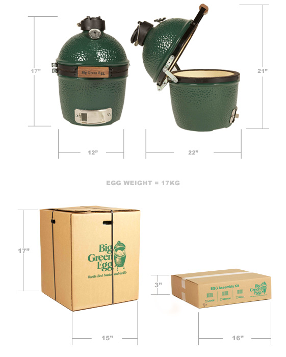 Big Green Egg Grill Packaging Mini5