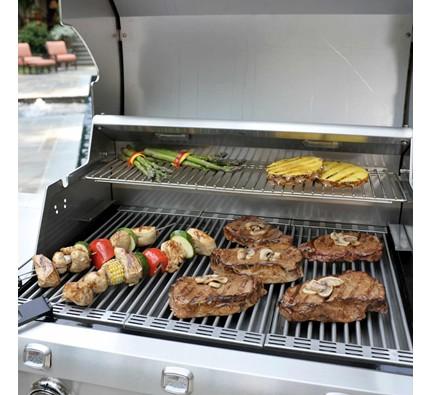 Saber SS 500 Grilling Food
