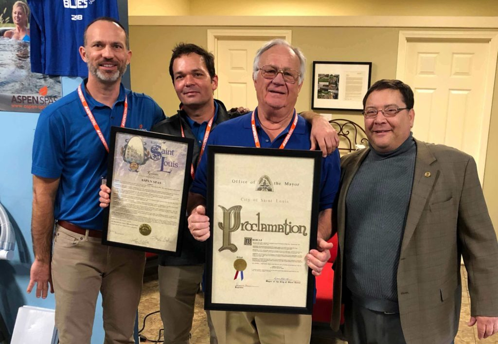Aspen Spas Day Proclamation